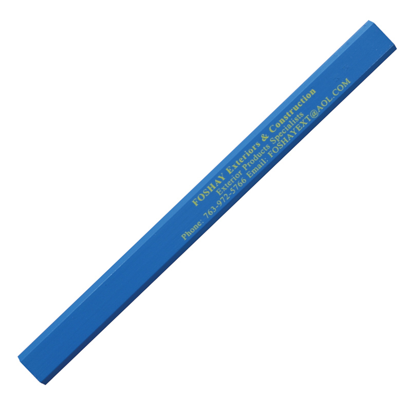 Enamel Finish Carpenter Pencil