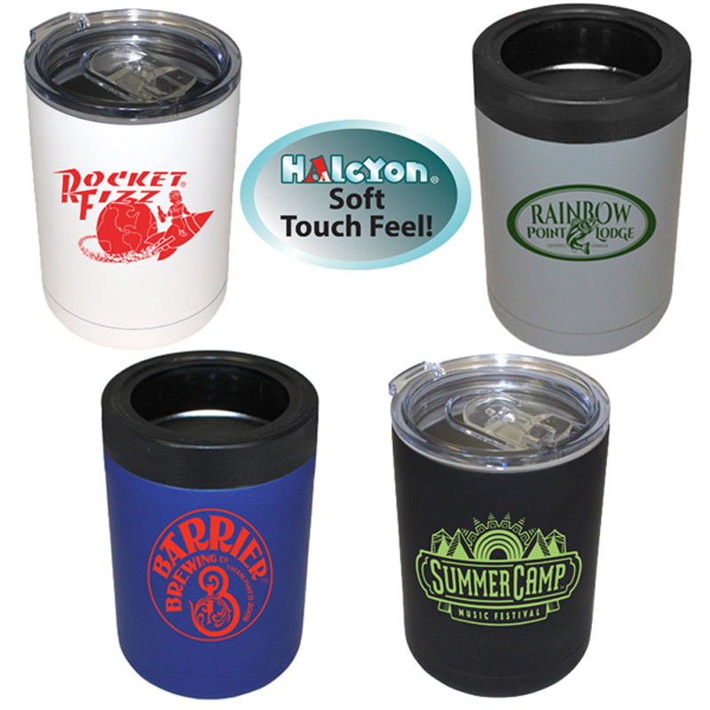 12 oz. Halcyon® Tumbler/Can Cooler