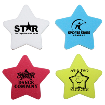 Die Cut Eraser - Star