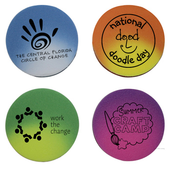 Mood Die Cut Eraser-Circle