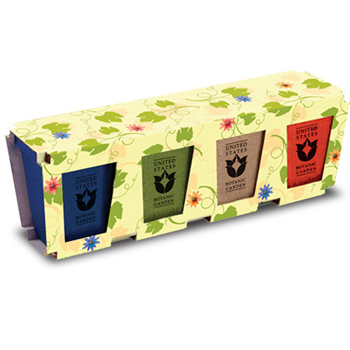Promo Planter, 4-Pack Planter Set