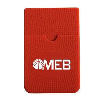 Textured Sport Smart Wallet - Basketball