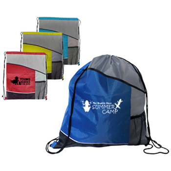 Varsity Drawstring Backpack