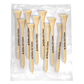 Golf Tee Pack of 10