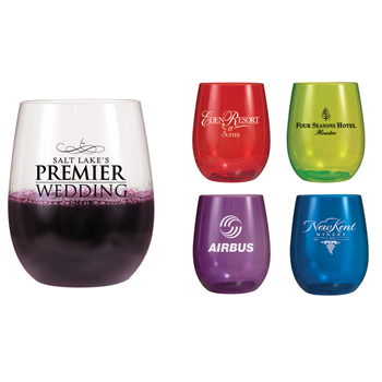 12 OZ. Vinello Stemless Wine Glass