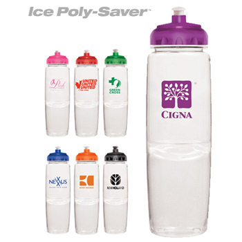 24 oz. Ice Poly-Saver Twist Bottle - BPA Free