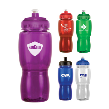 18 Oz. Poly-Saver Mate Bottle With Push 'n Pulll Cap