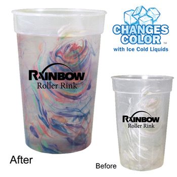 17 oz. Rainbow Confetti Mood Cup