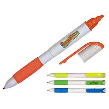 2 in 1 Pen/Highlighter, Full Color Digital