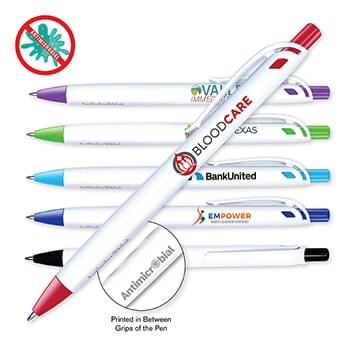 Antimicrobial Click Pen, Full Color Digital