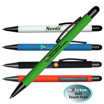 Halcyon® Metal Pen/Stylus, Full Color Digital