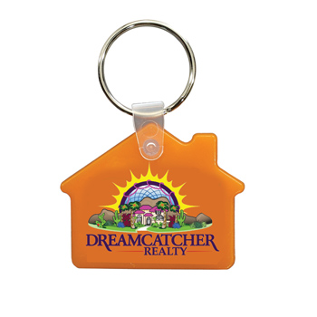 House Key Fob, Full Color Digital