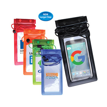 Large Waterproof Cell Phone Bag, Full Color Digital