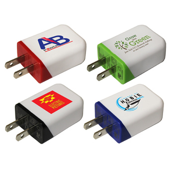 Single Port Wall Charger, Full Color Digital