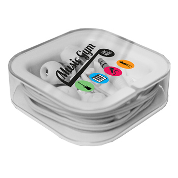 Nite Glow Ear Buds, Full Color Digital