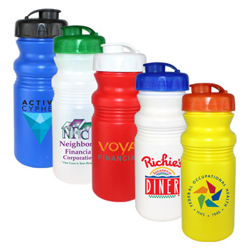 20 oz. Cycle Bottle with Flip Top Cap, Full Color Digital Direct