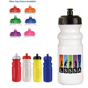 20 oz. Cycle Bottle, Full Color Digital Direct