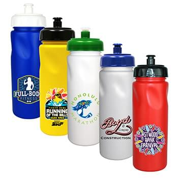 24 Oz. Cycle Bottle with Push 'n Pull Cap, Full Color Digital
