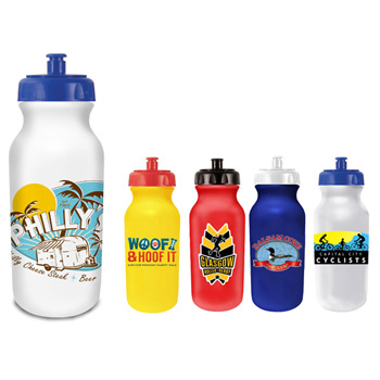 20 oz. Value Cycle Bottle, Full Color Digital