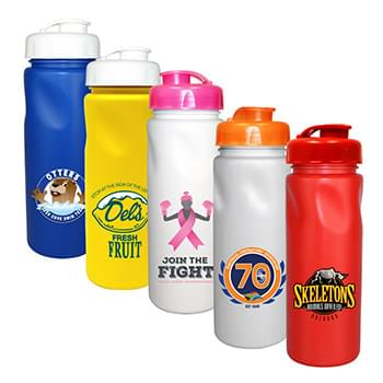 24 Oz. Cycle Bottle with Flip Top Cap, Full Color Digital