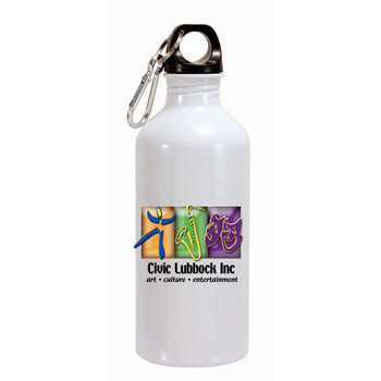 22 Oz. Aluminum Trek Ii Bottle (1 Side), Full Color Digital