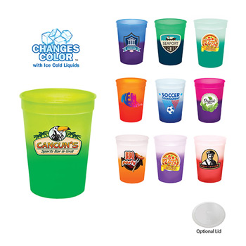 12 oz. Mood Stadium Cup, Full Color Digital