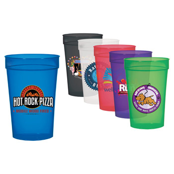 17 Oz. Transparent Stadium Cup, Full Color Digital