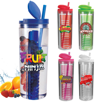 20 oz. Infuser Tumbler, Full Color Digital