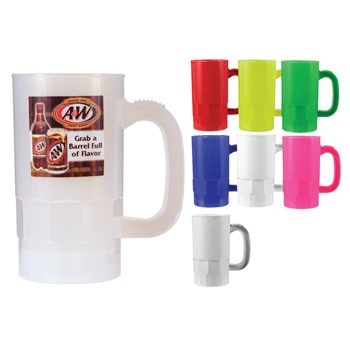 14 oz. Beer Stein (1 Side), Full Color Digital