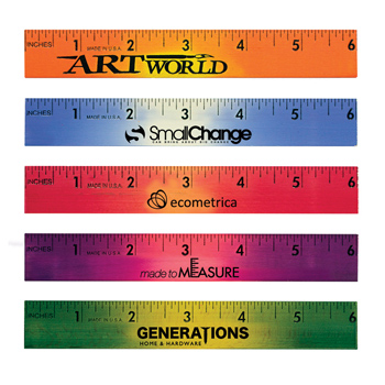 "6"" Mood Wood Ruler"